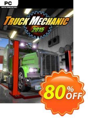 Truck Mechanic Simulator 2015 PC Coupon discount Truck Mechanic Simulator 2015 PC Deal 2021 CDkeys