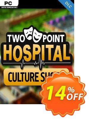 Two Point Hospital: Culture Shock PC - DLC (EU) discount coupon Two Point Hospital: Culture Shock PC - DLC (EU) Deal 2021 CDkeys - Two Point Hospital: Culture Shock PC - DLC (EU) Exclusive Sale offer for iVoicesoft