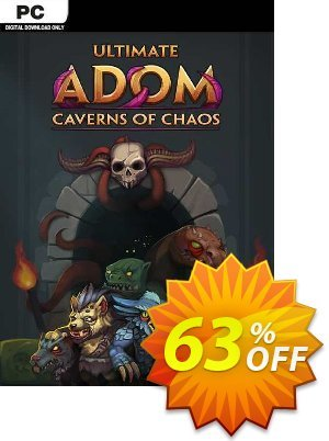 Ultimate ADOM - Caverns of Chaos PC Coupon, discount Ultimate ADOM - Caverns of Chaos PC Deal 2021 CDkeys. Promotion: Ultimate ADOM - Caverns of Chaos PC Exclusive Sale offer for iVoicesoft