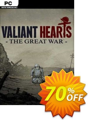 Valiant Hearts: The Great War PC discount coupon Valiant Hearts: The Great War PC Deal 2021 CDkeys - Valiant Hearts: The Great War PC Exclusive Sale offer for iVoicesoft