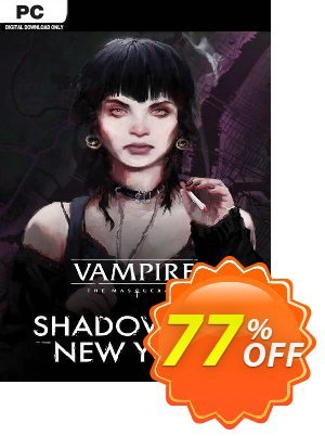 Vampire: The Masquerade - Shadows of New York PC discount coupon Vampire: The Masquerade - Shadows of New York PC Deal 2021 CDkeys - Vampire: The Masquerade - Shadows of New York PC Exclusive Sale offer for iVoicesoft