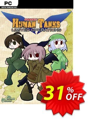War of the Human Tanks - Limited Operations - Unlimited Edition PC discount coupon War of the Human Tanks - Limited Operations - Unlimited Edition PC Deal 2021 CDkeys - War of the Human Tanks - Limited Operations - Unlimited Edition PC Exclusive Sale offer for iVoicesoft