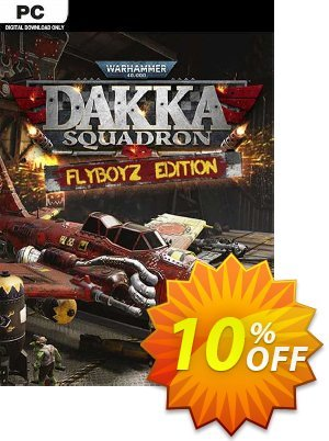 Warhammer 40,000: Dakka Squadron - Flyboyz Edition PC discount coupon Warhammer 40,000: Dakka Squadron - Flyboyz Edition PC Deal 2021 CDkeys - Warhammer 40,000: Dakka Squadron - Flyboyz Edition PC Exclusive Sale offer for iVoicesoft