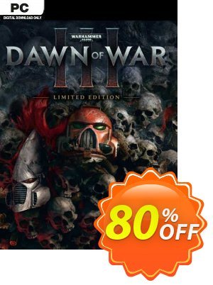 Warhammer 40,000 Dawn of War III Limited Edition PC (EU) discount coupon Warhammer 40,000 Dawn of War III Limited Edition PC (EU) Deal 2021 CDkeys - Warhammer 40,000 Dawn of War III Limited Edition PC (EU) Exclusive Sale offer for iVoicesoft