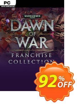 Warhammer 40,000 Dawn of War Franchise Collection PC discount coupon Warhammer 40,000 Dawn of War Franchise Collection PC Deal 2021 CDkeys - Warhammer 40,000 Dawn of War Franchise Collection PC Exclusive Sale offer for iVoicesoft
