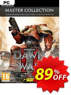 Warhammer 40,000: Dawn of War II - Master Collection PC (EU) discount coupon Warhammer 40,000: Dawn of War II - Master Collection PC (EU) Deal 2021 CDkeys - Warhammer 40,000: Dawn of War II - Master Collection PC (EU) Exclusive Sale offer for iVoicesoft