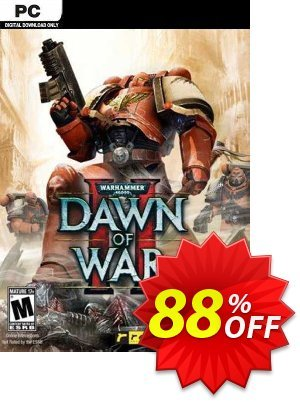 Warhammer 40,000: Dawn of War II PC discount coupon Warhammer 40,000: Dawn of War II PC Deal 2021 CDkeys - Warhammer 40,000: Dawn of War II PC Exclusive Sale offer for iVoicesoft