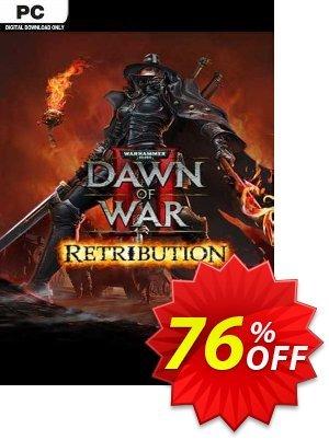 Warhammer 40,000: Dawn of War II: Retribution PC (EU) discount coupon Warhammer 40,000: Dawn of War II: Retribution PC (EU) Deal 2021 CDkeys - Warhammer 40,000: Dawn of War II: Retribution PC (EU) Exclusive Sale offer for iVoicesoft