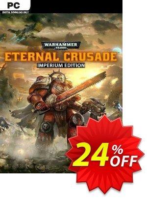 Warhammer 40000: Eternal Crusade - Imperium Edition PC discount coupon Warhammer 40000: Eternal Crusade - Imperium Edition PC Deal 2021 CDkeys - Warhammer 40000: Eternal Crusade - Imperium Edition PC Exclusive Sale offer for iVoicesoft