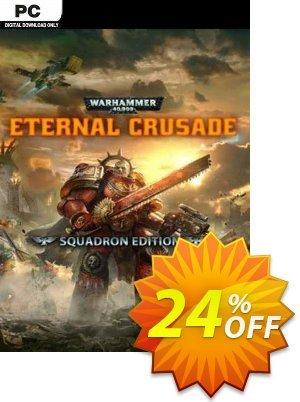 Warhammer 40000: Eternal Crusade - Squadron Edition PC discount coupon Warhammer 40000: Eternal Crusade - Squadron Edition PC Deal 2021 CDkeys - Warhammer 40000: Eternal Crusade - Squadron Edition PC Exclusive Sale offer for iVoicesoft