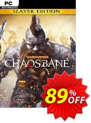 Warhammer: Chaosbane Slayer Edition PC discount coupon Warhammer: Chaosbane Slayer Edition PC Deal 2021 CDkeys - Warhammer: Chaosbane Slayer Edition PC Exclusive Sale offer for iVoicesoft