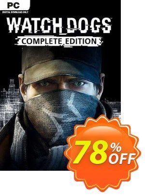 Watch Dogs - Complete Edition PC (EU) discount coupon Watch Dogs - Complete Edition PC (EU) Deal 2021 CDkeys - Watch Dogs - Complete Edition PC (EU) Exclusive Sale offer for iVoicesoft