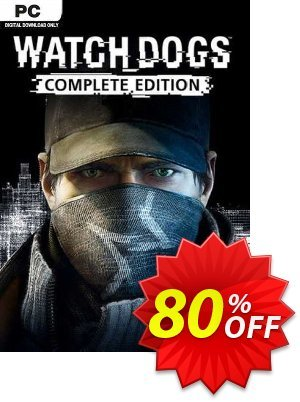 Watch Dogs - Complete Edition PC discount coupon Watch Dogs - Complete Edition PC Deal 2021 CDkeys - Watch Dogs - Complete Edition PC Exclusive Sale offer for iVoicesoft