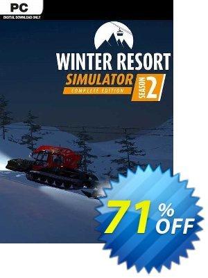 Winter Resort Simulator Season 2 - Complete Edition PC discount coupon Winter Resort Simulator Season 2 - Complete Edition PC Deal 2021 CDkeys - Winter Resort Simulator Season 2 - Complete Edition PC Exclusive Sale offer for iVoicesoft