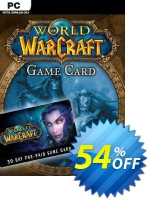 World of Warcraft 30 Day Pre-Paid Game Card PC/Mac (US) discount coupon World of Warcraft 30 Day Pre-Paid Game Card PC/Mac (US) Deal 2021 CDkeys - World of Warcraft 30 Day Pre-Paid Game Card PC/Mac (US) Exclusive Sale offer for iVoicesoft