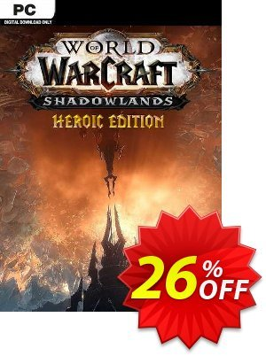 World Of Warcraft: Shadowlands Heroic Edition PC (US) discount coupon World Of Warcraft: Shadowlands Heroic Edition PC (US) Deal 2021 CDkeys - World Of Warcraft: Shadowlands Heroic Edition PC (US) Exclusive Sale offer for iVoicesoft