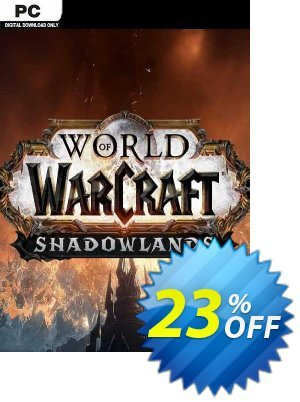 World Of Warcraft: Shadowlands PC (EU) discount coupon World Of Warcraft: Shadowlands PC (EU) Deal 2021 CDkeys - World Of Warcraft: Shadowlands PC (EU) Exclusive Sale offer for iVoicesoft