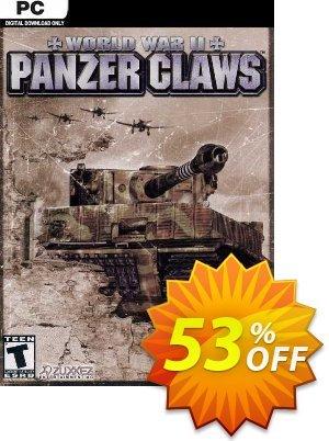 World War II: Panzer Claws PC discount coupon World War II: Panzer Claws PC Deal 2021 CDkeys - World War II: Panzer Claws PC Exclusive Sale offer for iVoicesoft