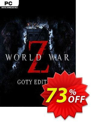 World War Z - GOTY Edition PC discount coupon World War Z - GOTY Edition PC Deal 2021 CDkeys - World War Z - GOTY Edition PC Exclusive Sale offer for iVoicesoft
