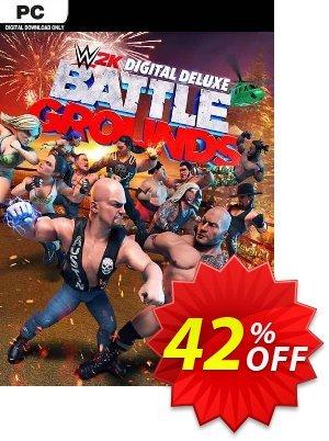 WWE 2K Battlegrounds Deluxe Edition PC (EU) 優惠券,折扣碼 WWE 2K Battlegrounds Deluxe Edition PC (EU) Deal 2021 CDkeys,促銷代碼: WWE 2K Battlegrounds Deluxe Edition PC (EU) Exclusive Sale offer for iVoicesoft