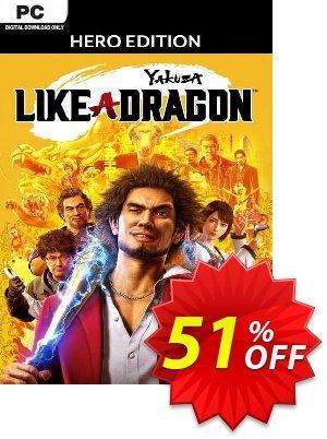 Yakuza: Like a Dragon Hero Edition PC (EU) discount coupon Yakuza: Like a Dragon Hero Edition PC (EU) Deal 2021 CDkeys - Yakuza: Like a Dragon Hero Edition PC (EU) Exclusive Sale offer for iVoicesoft
