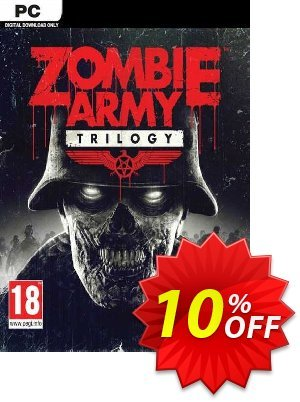 Zombie Army Trilogy PC discount coupon Zombie Army Trilogy PC Deal 2021 CDkeys - Zombie Army Trilogy PC Exclusive Sale offer for iVoicesoft