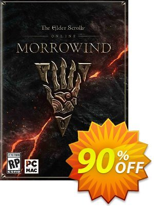 The Elder Scrolls Online - Morrowind PC + DLC (inc base game) Coupon, discount The Elder Scrolls Online - Morrowind PC + DLC (inc base game) Deal. Promotion: The Elder Scrolls Online - Morrowind PC + DLC (inc base game) Exclusive offer for iVoicesoft