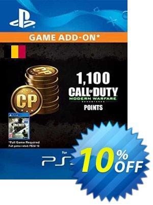 Call of Duty Modern Warfare - 1100 Points PS4 (Belgium) discount coupon Call of Duty Modern Warfare - 1100 Points PS4 (Belgium) Deal 2021 CDkeys - Call of Duty Modern Warfare - 1100 Points PS4 (Belgium) Exclusive Sale offer for iVoicesoft