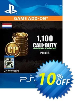 Call of Duty Modern Warfare - 1100 Points PS4 (Netherlands) discount coupon Call of Duty Modern Warfare - 1100 Points PS4 (Netherlands) Deal 2021 CDkeys - Call of Duty Modern Warfare - 1100 Points PS4 (Netherlands) Exclusive Sale offer for iVoicesoft