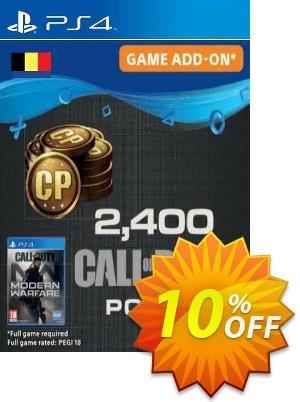 Call of Duty Modern Warfare 2400 Points PS4 (Belgium) discount coupon Call of Duty Modern Warfare 2400 Points PS4 (Belgium) Deal 2021 CDkeys - Call of Duty Modern Warfare 2400 Points PS4 (Belgium) Exclusive Sale offer for iVoicesoft