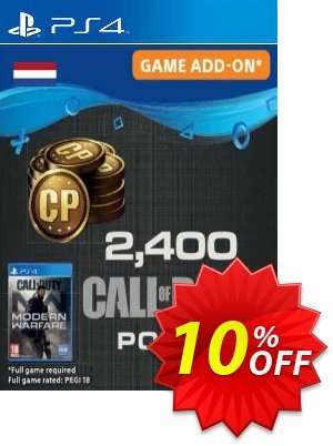 Call of Duty Modern Warfare 2400 Points PS4 (Netherlands) discount coupon Call of Duty Modern Warfare 2400 Points PS4 (Netherlands) Deal 2021 CDkeys - Call of Duty Modern Warfare 2400 Points PS4 (Netherlands) Exclusive Sale offer for iVoicesoft