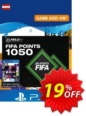 FIFA 21 Ultimate Team 1050 Points Pack PS4/PS5 (Austria) discount coupon FIFA 21 Ultimate Team 1050 Points Pack PS4/PS5 (Austria) Deal 2021 CDkeys - FIFA 21 Ultimate Team 1050 Points Pack PS4/PS5 (Austria) Exclusive Sale offer for iVoicesoft