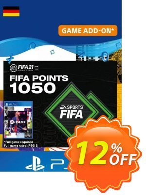 FIFA 21 Ultimate Team 1050 Points Pack PS4/PS5 (Germany) discount coupon FIFA 21 Ultimate Team 1050 Points Pack PS4/PS5 (Germany) Deal 2021 CDkeys - FIFA 21 Ultimate Team 1050 Points Pack PS4/PS5 (Germany) Exclusive Sale offer for iVoicesoft