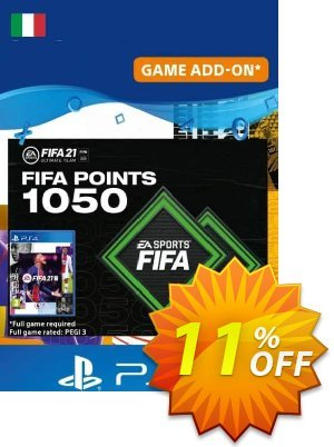 FIFA 21 Ultimate Team 1050 Points Pack PS4/PS5 (Italy) discount coupon FIFA 21 Ultimate Team 1050 Points Pack PS4/PS5 (Italy) Deal 2021 CDkeys - FIFA 21 Ultimate Team 1050 Points Pack PS4/PS5 (Italy) Exclusive Sale offer for iVoicesoft