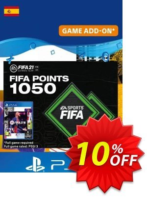 FIFA 21 Ultimate Team 1050 Points Pack PS4/PS5 (Spain) discount coupon FIFA 21 Ultimate Team 1050 Points Pack PS4/PS5 (Spain) Deal 2021 CDkeys - FIFA 21 Ultimate Team 1050 Points Pack PS4/PS5 (Spain) Exclusive Sale offer for iVoicesoft