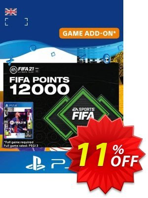 FIFA 21 Ultimate Team 12000 Points Pack PS4/PS5 (UK) discount coupon FIFA 21 Ultimate Team 12000 Points Pack PS4/PS5 (UK) Deal 2021 CDkeys - FIFA 21 Ultimate Team 12000 Points Pack PS4/PS5 (UK) Exclusive Sale offer for iVoicesoft