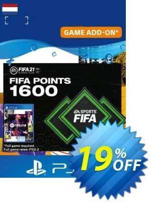 FIFA 21 Ultimate Team 1600 Points Pack PS4/PS5 (Netherlands) discount coupon FIFA 21 Ultimate Team 1600 Points Pack PS4/PS5 (Netherlands) Deal 2021 CDkeys - FIFA 21 Ultimate Team 1600 Points Pack PS4/PS5 (Netherlands) Exclusive Sale offer for iVoicesoft