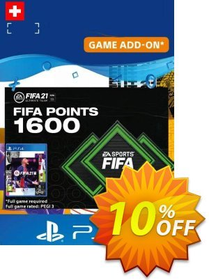 FIFA 21 Ultimate Team 1600 Points Pack PS4/PS5 (Switzerland) discount coupon FIFA 21 Ultimate Team 1600 Points Pack PS4/PS5 (Switzerland) Deal 2021 CDkeys - FIFA 21 Ultimate Team 1600 Points Pack PS4/PS5 (Switzerland) Exclusive Sale offer for iVoicesoft