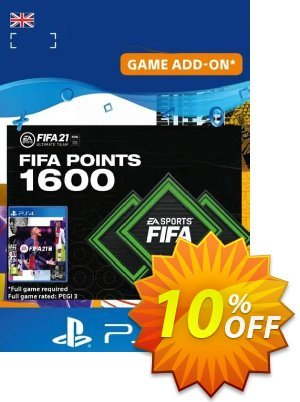 FIFA 21 Ultimate Team 1600 Points Pack PS4/PS5 (UK) discount coupon FIFA 21 Ultimate Team 1600 Points Pack PS4/PS5 (UK) Deal 2021 CDkeys - FIFA 21 Ultimate Team 1600 Points Pack PS4/PS5 (UK) Exclusive Sale offer for iVoicesoft