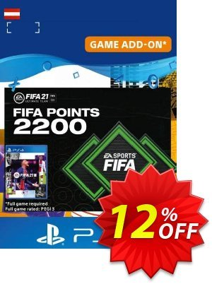FIFA 21 Ultimate Team 2200 Points Pack PS4/PS5 (Austria) discount coupon FIFA 21 Ultimate Team 2200 Points Pack PS4/PS5 (Austria) Deal 2021 CDkeys - FIFA 21 Ultimate Team 2200 Points Pack PS4/PS5 (Austria) Exclusive Sale offer for iVoicesoft