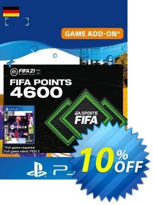 FIFA 21 Ultimate Team 4600 Points Pack PS4/PS5 (Germany) discount coupon FIFA 21 Ultimate Team 4600 Points Pack PS4/PS5 (Germany) Deal 2021 CDkeys - FIFA 21 Ultimate Team 4600 Points Pack PS4/PS5 (Germany) Exclusive Sale offer for iVoicesoft