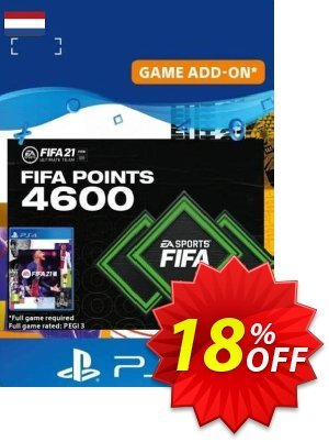 FIFA 21 Ultimate Team 4600 Points Pack PS4/PS5 (Netherlands) discount coupon FIFA 21 Ultimate Team 4600 Points Pack PS4/PS5 (Netherlands) Deal 2021 CDkeys - FIFA 21 Ultimate Team 4600 Points Pack PS4/PS5 (Netherlands) Exclusive Sale offer for iVoicesoft