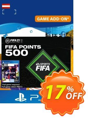 FIFA 21 Ultimate Team 500 Points Pack PS4/PS5 (Austria) discount coupon FIFA 21 Ultimate Team 500 Points Pack PS4/PS5 (Austria) Deal 2021 CDkeys - FIFA 21 Ultimate Team 500 Points Pack PS4/PS5 (Austria) Exclusive Sale offer for iVoicesoft