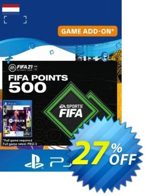 FIFA 21 Ultimate Team 500 Points Pack PS4/PS5 (Netherlands) discount coupon FIFA 21 Ultimate Team 500 Points Pack PS4/PS5 (Netherlands) Deal 2021 CDkeys - FIFA 21 Ultimate Team 500 Points Pack PS4/PS5 (Netherlands) Exclusive Sale offer for iVoicesoft
