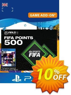 FIFA 21 Ultimate Team 500 Points Pack PS4/PS5 (UK) discount coupon FIFA 21 Ultimate Team 500 Points Pack PS4/PS5 (UK) Deal 2021 CDkeys - FIFA 21 Ultimate Team 500 Points Pack PS4/PS5 (UK) Exclusive Sale offer for iVoicesoft