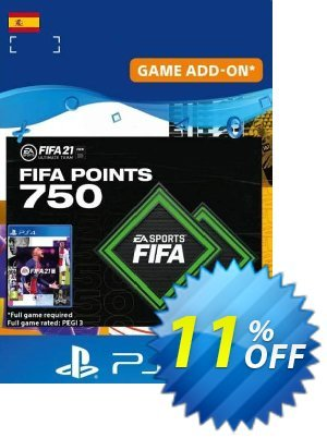FIFA 21 Ultimate Team 750 Points Pack PS4/PS5 (Spain) discount coupon FIFA 21 Ultimate Team 750 Points Pack PS4/PS5 (Spain) Deal 2021 CDkeys - FIFA 21 Ultimate Team 750 Points Pack PS4/PS5 (Spain) Exclusive Sale offer for iVoicesoft