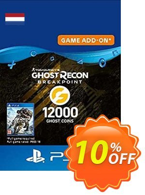 Ghost Recon Breakpoint - 12000 Ghost Coins PS4 (Netherlands) discount coupon Ghost Recon Breakpoint - 12000 Ghost Coins PS4 (Netherlands) Deal 2021 CDkeys - Ghost Recon Breakpoint - 12000 Ghost Coins PS4 (Netherlands) Exclusive Sale offer for iVoicesoft