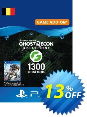 Ghost Recon Breakpoint - 1300 Ghost Coins PS4 (Belgium) discount coupon Ghost Recon Breakpoint - 1300 Ghost Coins PS4 (Belgium) Deal 2021 CDkeys - Ghost Recon Breakpoint - 1300 Ghost Coins PS4 (Belgium) Exclusive Sale offer for iVoicesoft