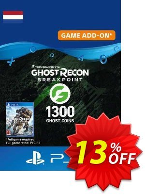 Ghost Recon Breakpoint - 1300 Ghost Coins PS4 (Netherlands) discount coupon Ghost Recon Breakpoint - 1300 Ghost Coins PS4 (Netherlands) Deal 2021 CDkeys - Ghost Recon Breakpoint - 1300 Ghost Coins PS4 (Netherlands) Exclusive Sale offer for iVoicesoft