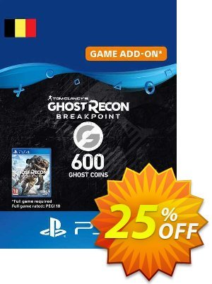 Ghost Recon Breakpoint - 600 Ghost Coins PS4 (Belgium) discount coupon Ghost Recon Breakpoint - 600 Ghost Coins PS4 (Belgium) Deal 2021 CDkeys - Ghost Recon Breakpoint - 600 Ghost Coins PS4 (Belgium) Exclusive Sale offer for iVoicesoft